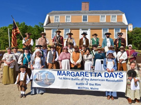 Margaretta Days participants pose for a photo
