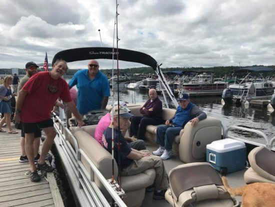 MVh residents go on a boat ride