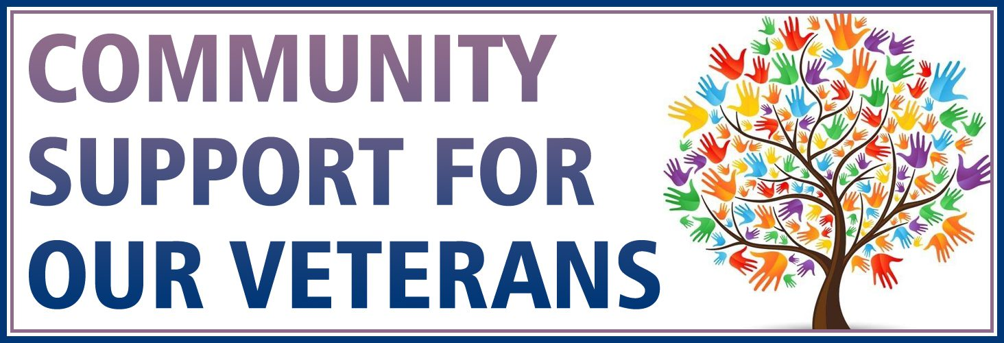 Community Support for Veterans graphic