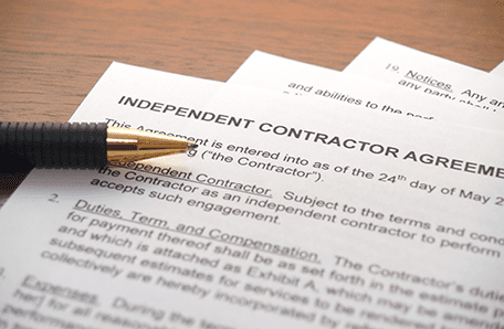 ndependent contract agreement