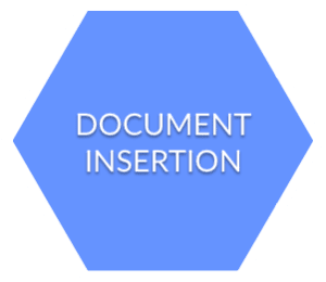 document insertion and order fulfillment