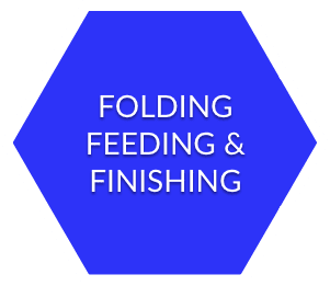 folding feeding and finishing equipment