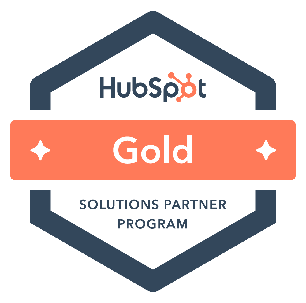 hubspot registered partner badge