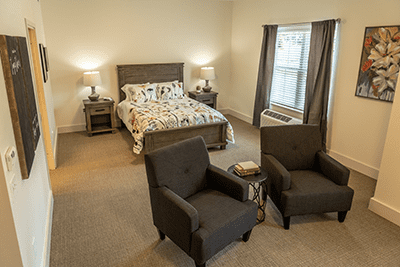 Canal Winchester has 47 spacious, private, one-bedroom assisted living suites.