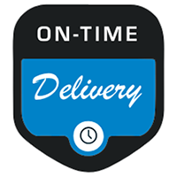 Classic Carriers on-time delivery icon
